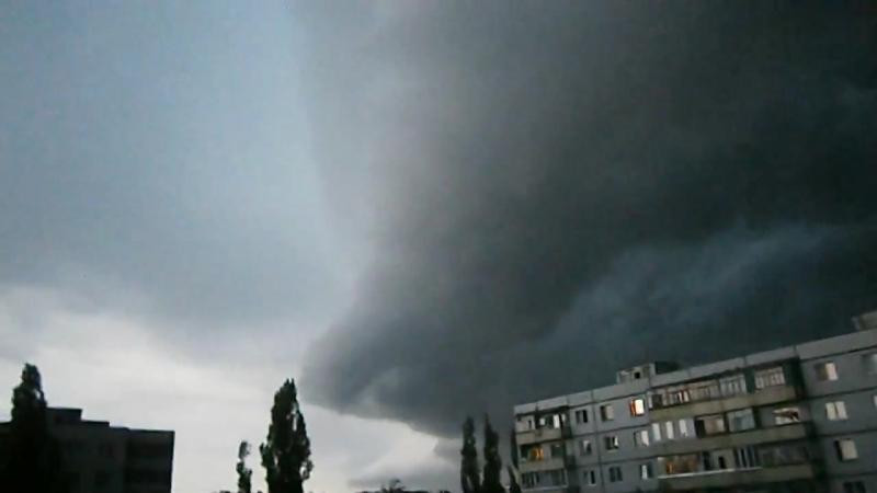 Ураган в Старом Осколе летом 2012г. — Яндекс.Видео