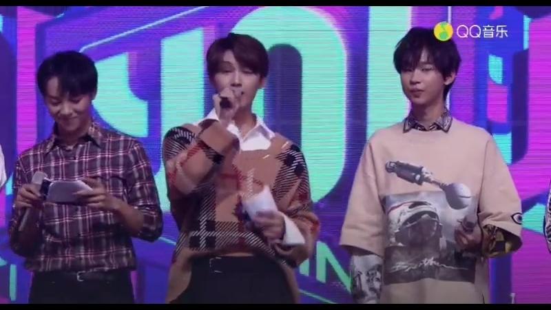 181014 EXO Lay Yixing @ 'Yo! Bang Weekly Music Show' (由你音乐榜)