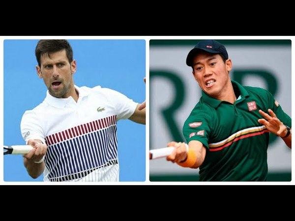 Kei Nishikori vs Novak Djokovic highlights ROME 2018 QF HD