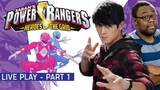 Power Rangers Heroes Of The Grid Live Play - Peter Sudarso and Andre Meadows!