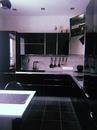 Кухня в черном цвете от нашей подписчицы