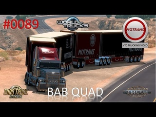 American Truck Simulator - #0089 BAB QUAD