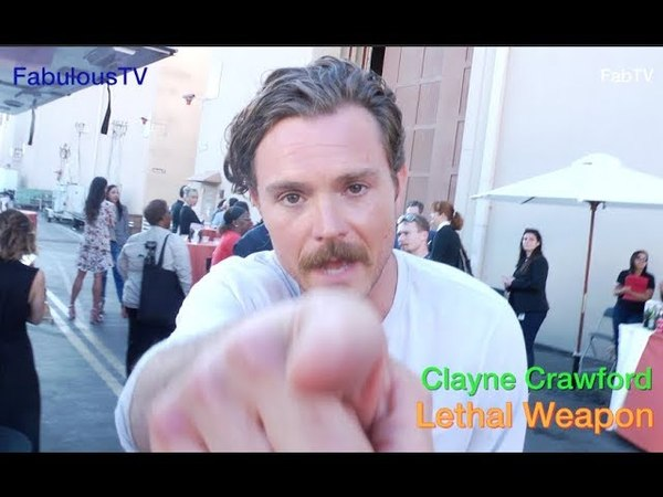 Clayne Crawford talks about his comedy on 'Lethal Weapon on FOX