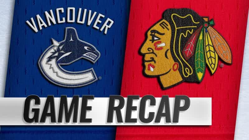 НХЛ - регулярный чемпионат. «Чикаго Блэкхоукс» - «Ванкувер Кэнакс» - 2:3 ОТ (1:0, 0:2, 1:0, 0:1)