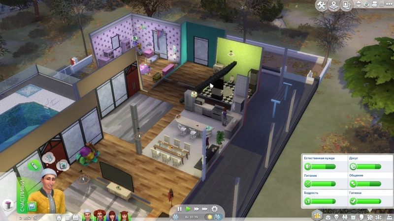 The Sims™ Обзор домов