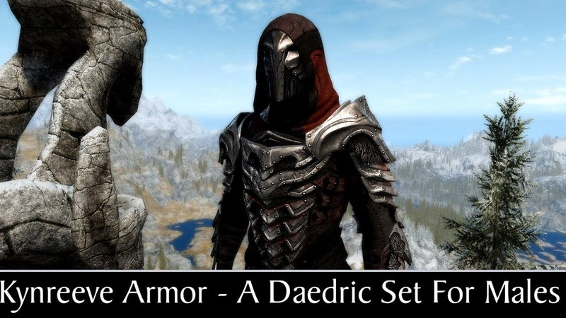 Skyrim Special Edition: Kynreeve Armor - A Daedric Set For Males Mini Mod Showcase