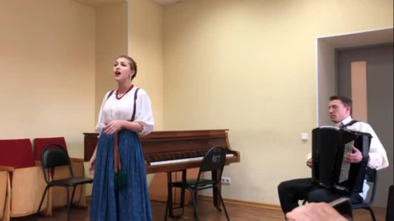 Мария Чухнова- «На пристани»