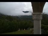 Вид из дома. Село Анухва. Новый Афон. 380 м над уровнем моря.