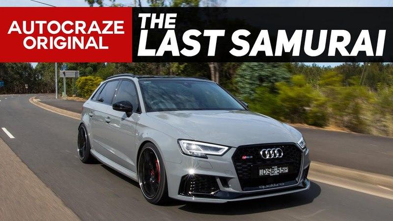 The Last Samurai | Audi RS3 | Rays G25 x Nitto Invo Tyres | AutoCraze 2018