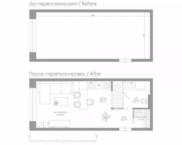 Дизайн малогабаритной квартиры (30 кв.
