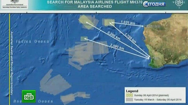 Фото с поверхности океана прольют свет на судьбу пропавшего Boeing-777