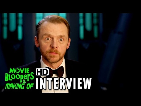 Mission Impossible - Rogue Nation (2015) BTS Movie Interview - Simon Pegg is Benji Dunn