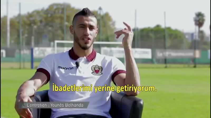 Belhandadan tokat gibi yanıt ! Müslüman Futbolcu