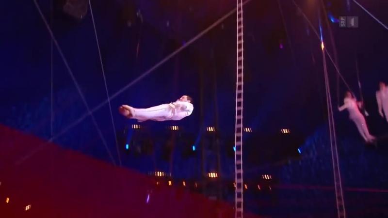 Воздушный полет Герои - 42й международный фестиваль циркового искусства в Монте Карло (2018 год)