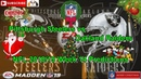 Pittsburgh Steelers vs Oakland Raiders | NFL 2018-19 Week 14 | Predictions Madden NFL 19