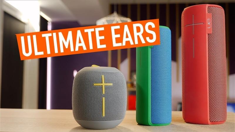 Обзор Ultimate Ears - Wonderboom, Megaboom, Boom 2