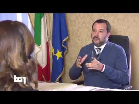 INTERVISTA A MATTEO SALVINI SUL TG1 (RAI 1, 05.12.2018)