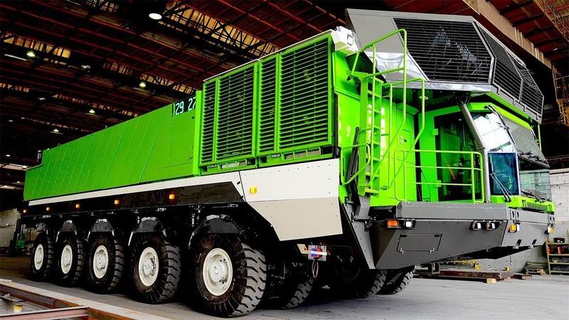 Модульный карьерный самосвал 770 тонн грузоподъемность