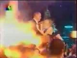 Жанна Фриске и Сергей Мазаев - Ты - мой снег, ты - мой дождь (ТВЦ, январь 2004)