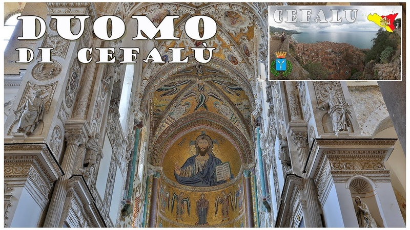 Сицилия: Чефалу, Кафедральный собор Преображения Господня, Duomo di Cefalù