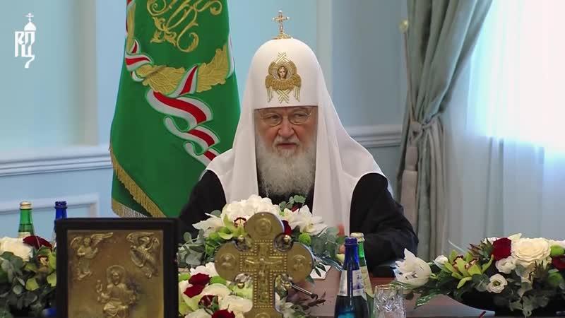 В Минске началось заседание Священного Синода Русской Православной Церкви