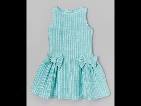 How to make Simple Frock Dress - Very Easy Method - Step By Step - Cutting Stitching