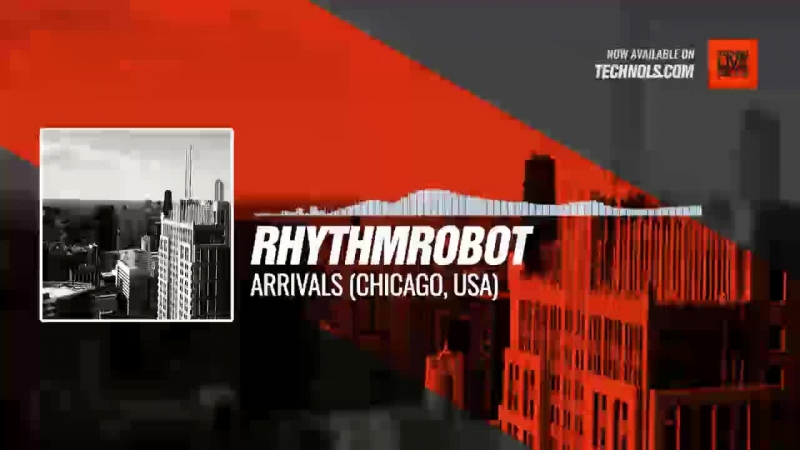 @rhythmrobot - Arrivals (Chicago, USA) Periscope Techno music