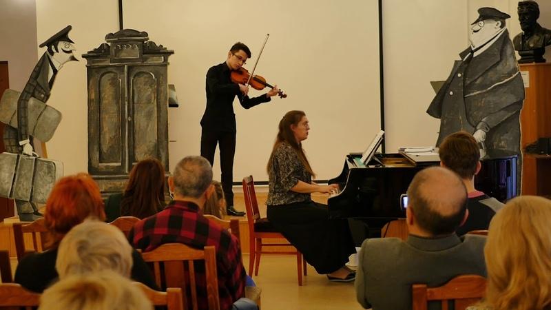 Roman Dzhankezov. Geminiani. Sonata in c minor / Largo and Allegro moderato