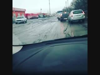 Состояние дорог в Ростовской области...