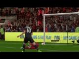 Милан - Барселона (гол Кутроне) / FIFA18