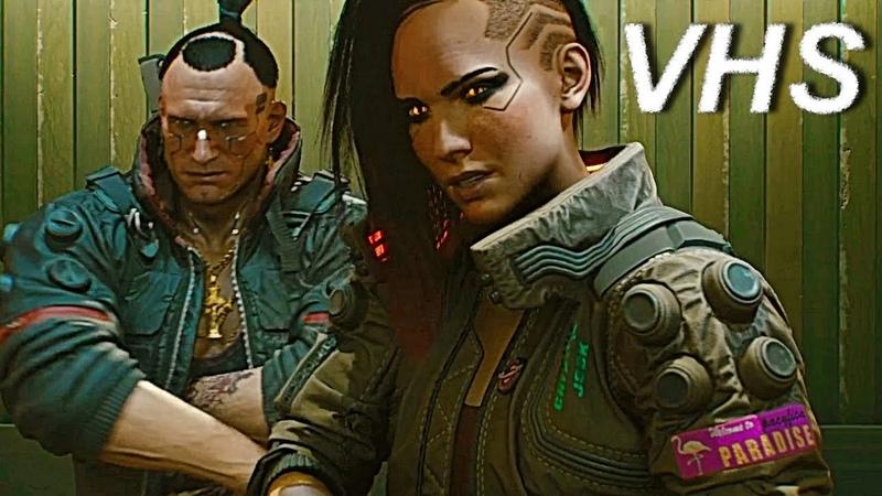 Cyberpunk 2077 - Геймплей игры на русском - VHSник