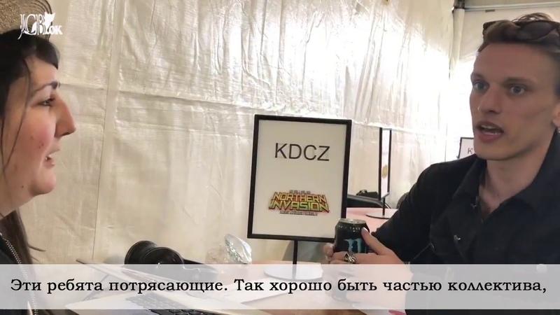 Интервью COUNTERFEIT. с Z-Rocker на Nothern Invasion 2018 (русские субтитры)
