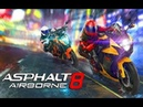 Мультики про машинки для детей Игры Гонки на Мотоциклах Asphalt 8 Airborne
