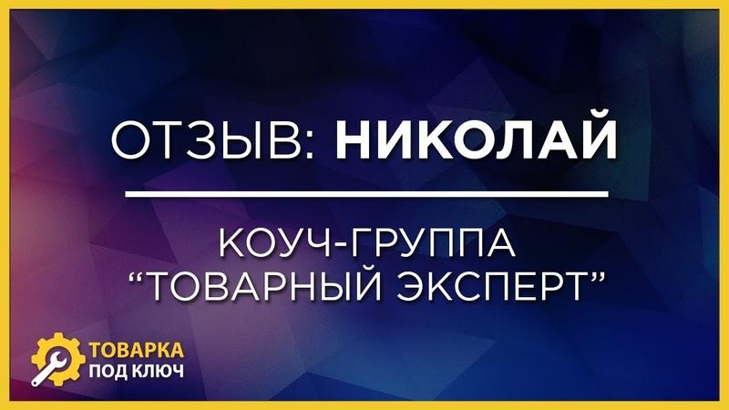 Отзыв Николая Ситникова — Коуч-группа с работой до результата