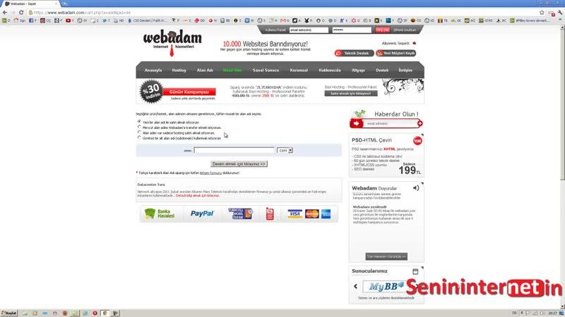 Wordpress Eğitim Seti _ Ders 2 Web Alanı (Hosting) Satın Alma - YouTube