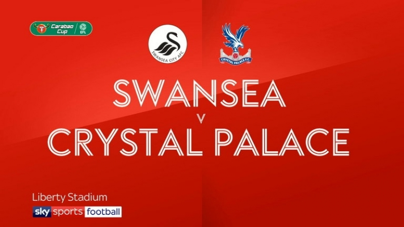 Carabao Cup. Round 2. Swansea 0-1 Crystal Palace