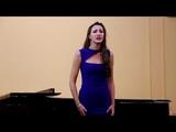 Lyubov Zakharova. Wolfgang Korngold Marietta's lied