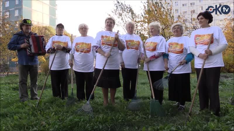 Знаменитые колпинские бабушки пригласили жителей на субботник