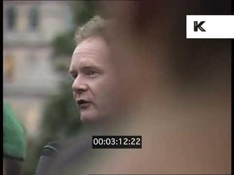 1995 Sinn Fein Rally London, Martin McGuinness, 1990s