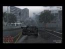 GTA V Online - Смертоносная погоня от копов под дождём 5 звёзд
