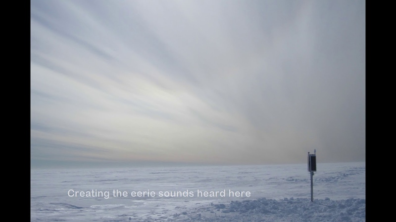 This is what an Antarctic Ice Shelf sounds like