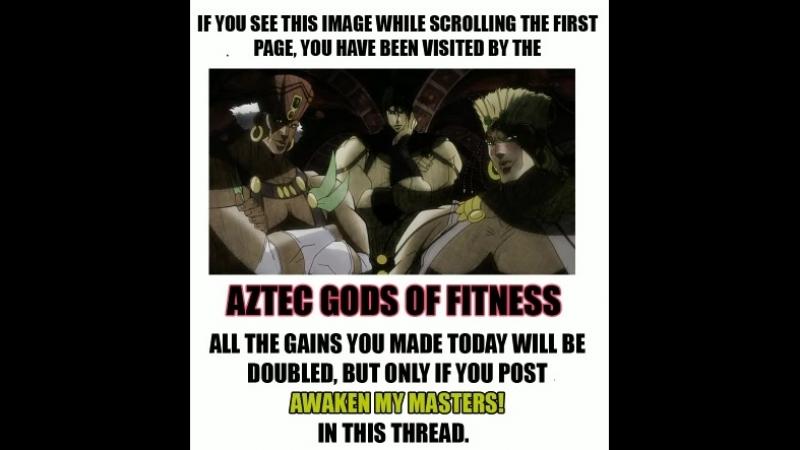 Aztec gods of fitness