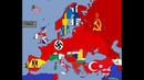 Europe Timeline of National Flags Part 1