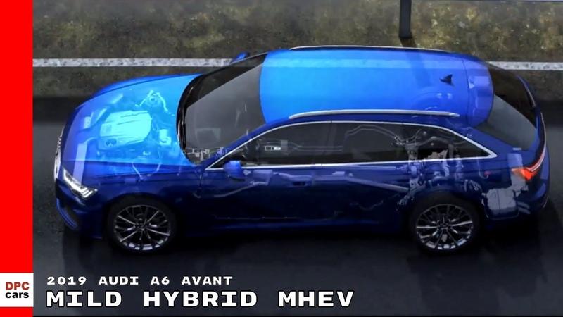 2019 Audi A6 Avant German Animation Mild Hybrid MHEV