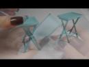 Миниатюрный складной столик
