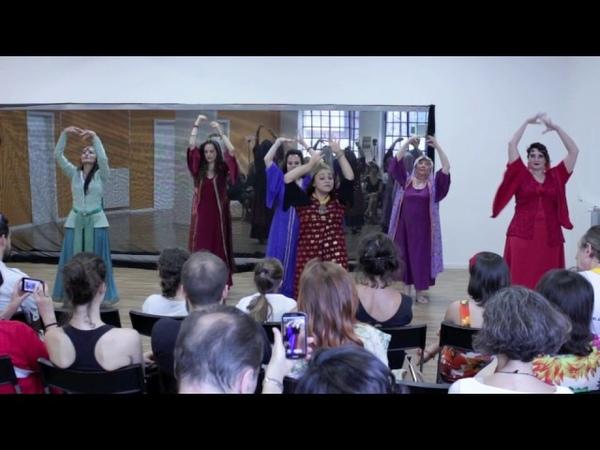 Persian Classical Dance, Aram Ghasemy , 2017 , اجرای رقص ایرانی در ایتالیا