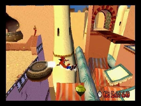 [TAS] Crash Bandicoot 3: Warped 105% in 1:55:33.38 by The8bitbeast