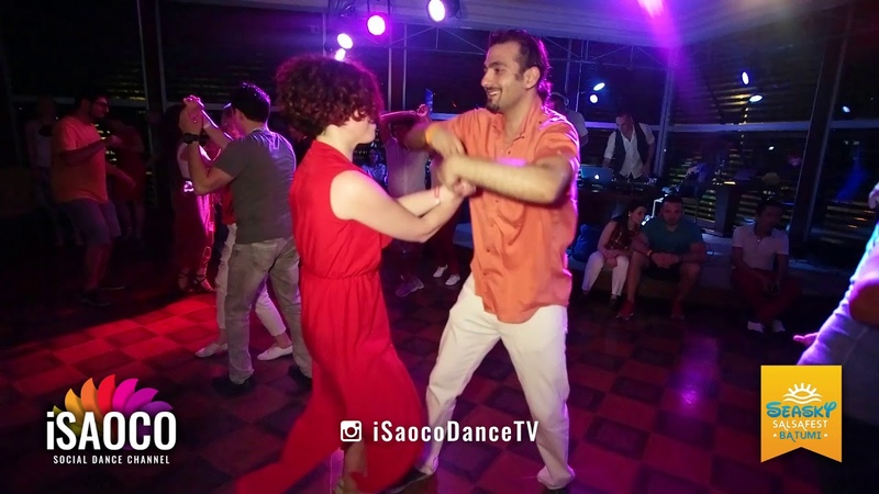 Tomas Münür Tenekeci and Anna Melkova Salsa Dancing at Seasky Salsafest Batumi, Friday 15.06.2018