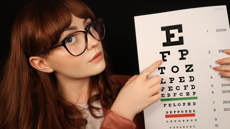 [ASMR] Eye Examination Roleplay - Light Triggers and Personal Attention