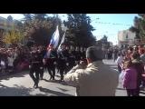 Реакция греков на русских моряков в Греции заглушила музыку марша.